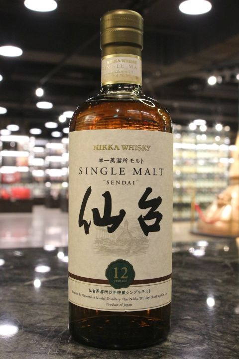 (現貨) Nikka 'Sendai' 12 Years Single Malt Whisky 一甲 仙台 12年 單一麥芽威士忌 (700ml 43%)