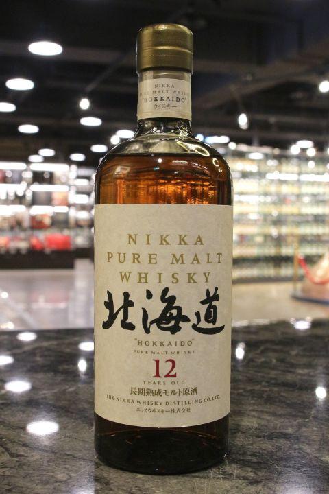 (現貨) Nikka 'Hokkaido' 12 Years Pure Malt Whisky 一甲 北海道 12年 純麥威士忌 (750ml 43%)