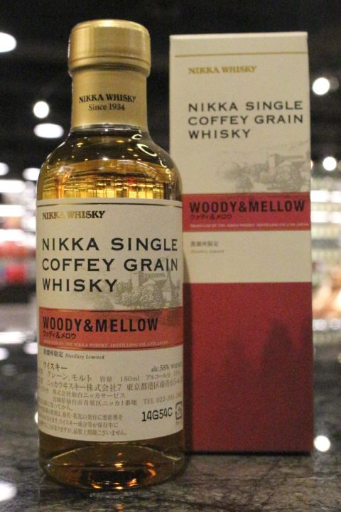 (現貨) Nikka Single Coffey Grain Whisky - Woody & Mellow 單一穀物 蒸餾所限定 (180ml 55%)