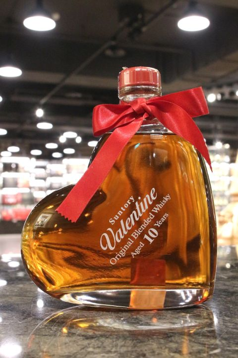 Suntory 'Valentine' 10 Years Blended Whisky 三得利 10年 愛心瓶 (1000ml 40%)