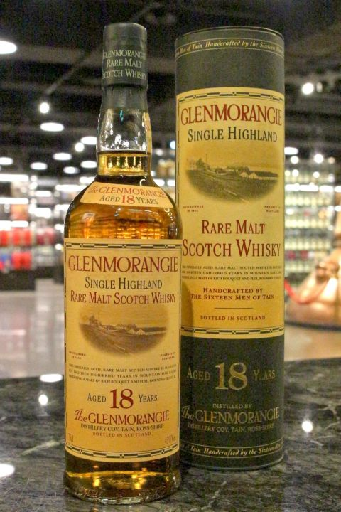 GLENMORANGIE 18 Years – Old Bottling 格蘭傑 18年 舊版 (750ml 43%)