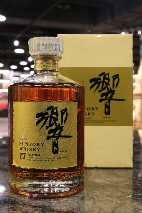 HIBIKI 17 Years Golden Flower Version 響 17年 金花版 金標 (750ml 43%)
