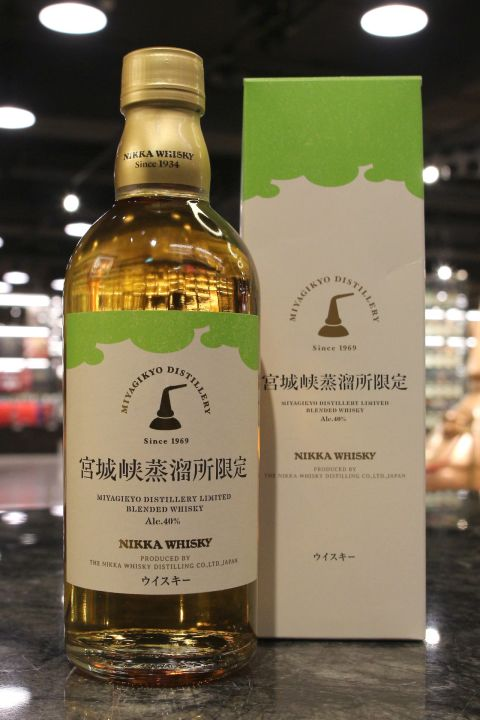 (現貨) Miyagikyo Distillery Limited Blended Whisky 宮城峽蒸餾所限定 (500ml 40%)