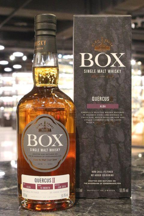 (現貨) BOX Quercus Ⅱ- Alba 瑞典盒子 映•橡系列之二 美國白橡木桶 (500ml 50.8%)