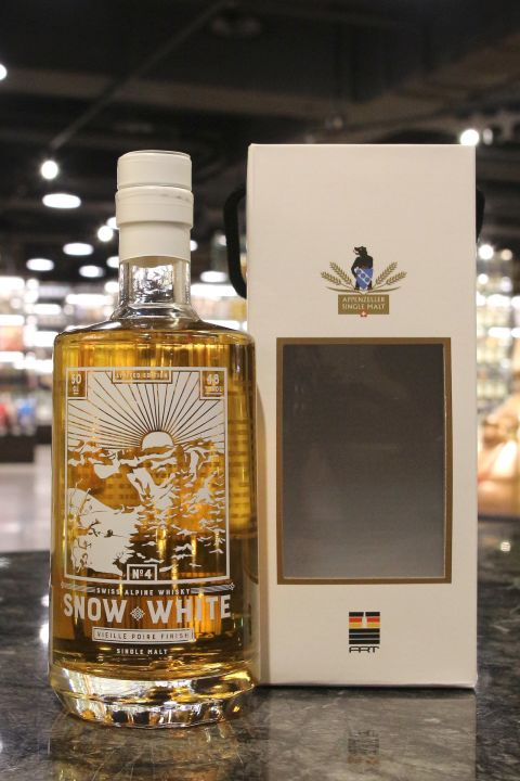 (現貨) SÄNTIS MALT Snow White 4 Vielle Poire Finish 山蹄士 白雪公主四版 梨子酒桶 (500ml 48%)