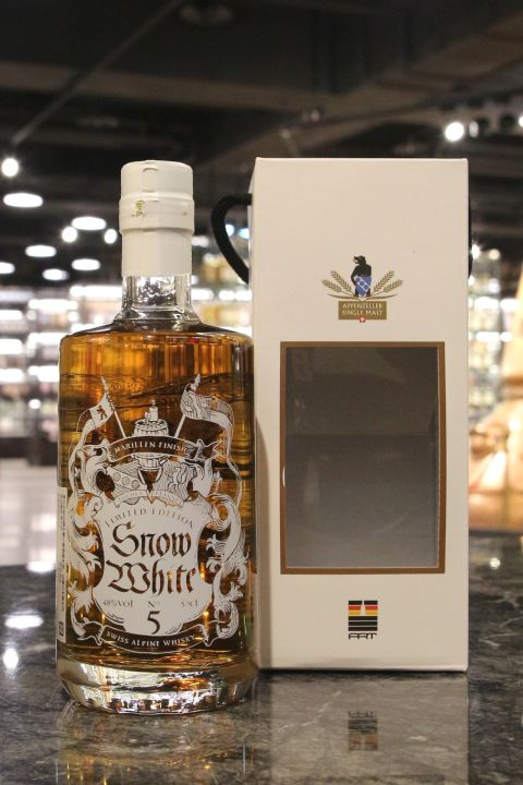 (現貨) SÄNTIS MALT Snow White 5 Apricot Finish 山蹄士 白雪公主五版 杏桃酒桶 (500ml 48%)