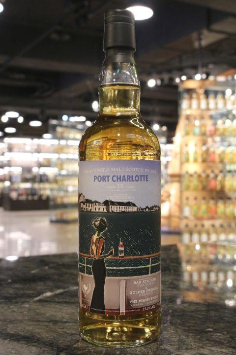 The Whiskyfind - Port Charlotte 13 Years 2004 - Bar Talk系列︰北京福岡 波夏 2004 (700ml 55.3%)