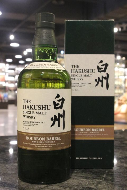 (現貨) Hakushu Bourban Barrel Single Malt Whisky 白州 波本桶 (700ml 48%)