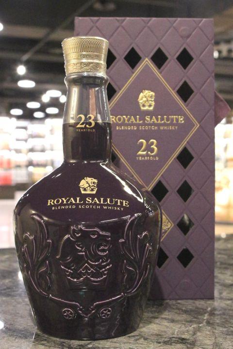 (現貨) Royal Salute 23 Years Taiwan Exclusive 皇家禮炮 23年 調和威士忌 台灣限定 (700ml 40%)