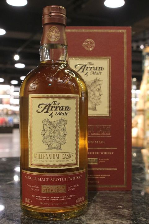 (現貨) Arran Millennium Casks - Cask Strength 愛倫 千禧年桶 原酒 (700ml 53.5%)