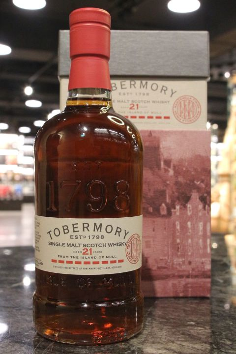 (現貨) Tobermory 21 years Manzanilla Cask Finish 托本莫瑞 21年 曼查尼亞雪莉桶 (700ml 53.8%)