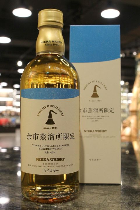 (現貨) Yoichi Distillery Limited Blended Whisky 余市 蒸餾所限定版 (500ml 40%)