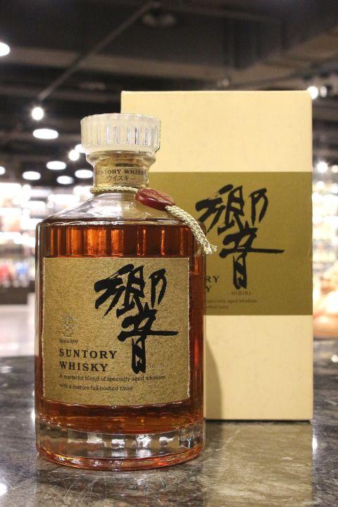 (現貨) HIBIKI Golden Flower Version with Golden Label 響 金花版 金標 天地蓋 (750ml 43%)