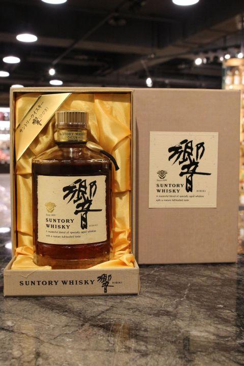 (現貨) HIBIKI Golden Flower Version with Golden Cap 響 金花版 金頭 (750ml 43%)