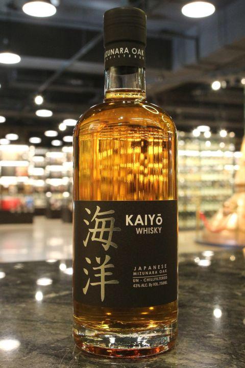 (現貨) Kaiyo Japanese Mizunara Oak Whisky 海洋 日本水楢桶威士忌 (750ml 43%)