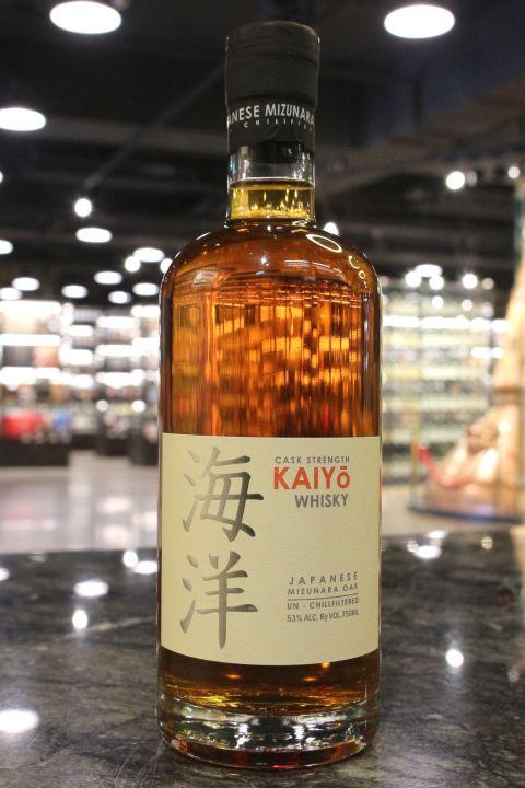 (現貨) Kaiyo Japanese Mizunara Oak Cask Strength 海洋 日本水楢桶 原酒 (750ml 53%)
