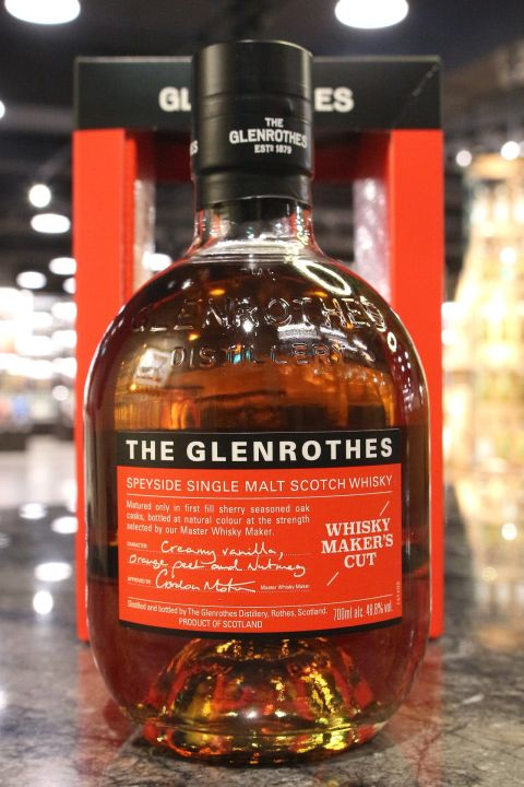 Glenrothes Whisky Maker's Cut 格蘭路思 Whisky Maker's Cut (700ml 48.8%)