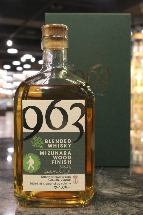 (現貨) Sasanokawa 963 Blended Mizunara Wood Finish 笹之川酒造 963 水楢風味桶 調和威士忌 (700ml 46%)