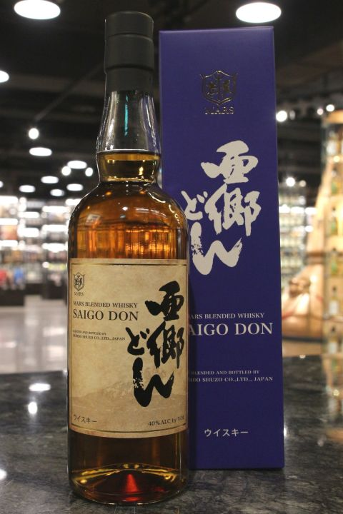 (現貨) Mars Blended Whisky 'Saigo Don' 本坊酒造 西郷どん 調和威士忌 2018年限定 (700ml 40%)