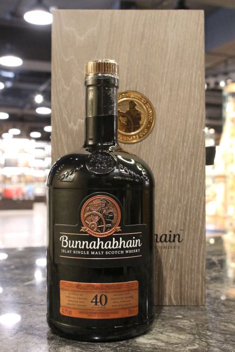 (現貨) Bunnahabhain 40 Years Small Batch Distilled 布納哈本 40年 單一麥芽威士忌 (700ml 41.9%)