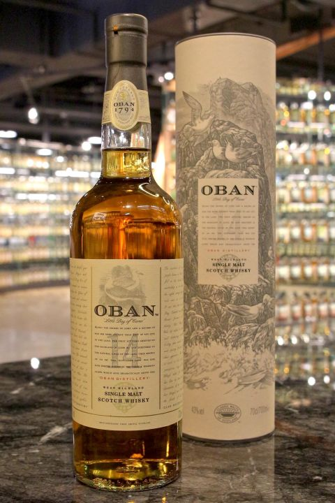 Oban 14 Years Single Malt Whisky 歐本 14年 單一麥芽威士忌 (700ml 43%)