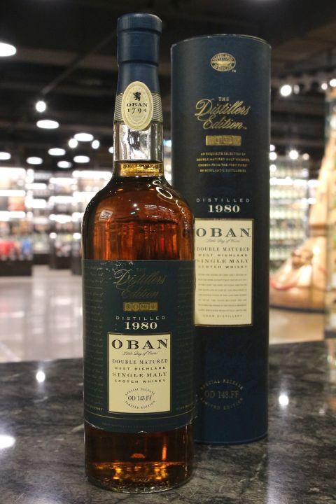 (現貨) Oban 1980 Double Matured Distillers Edition 1997 歐本 1980 酒廠限定1997版 (700ml 43%)