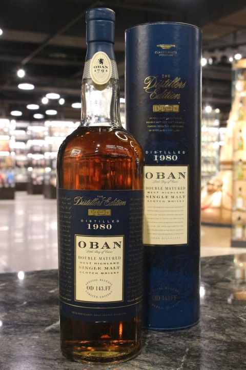 Oban 1980 Double Matured Distillers Edition 1997 歐本 1980 酒廠限定1997版 (1000ml 43%)