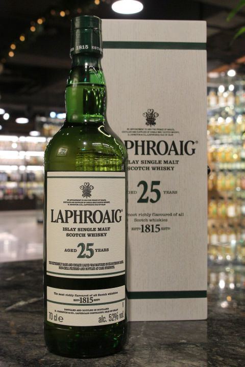 (現貨) LAPHROAIG 25 Years Cask Strength 2018 Edition 拉佛格 25年原酒 2018版 (700ml 52%)