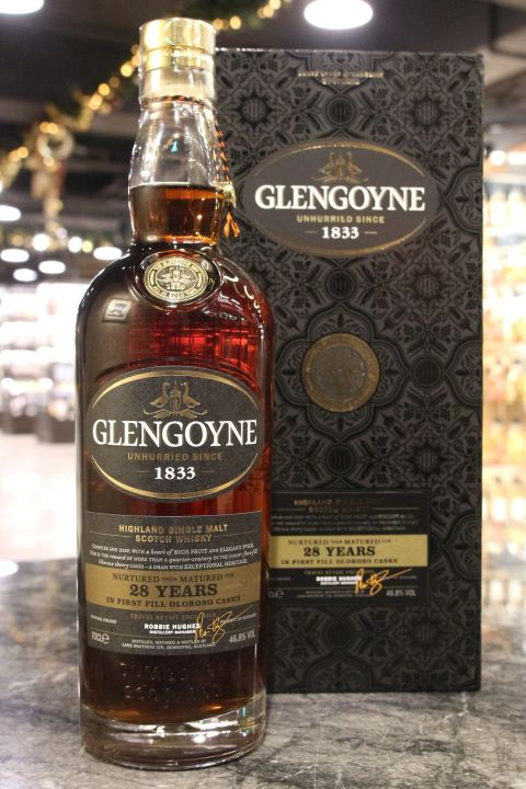 (現貨) Glengoyne 28 Years Oloroso Casks 格蘭哥尼 28年 初次雪莉桶 (700ml 46.8%)