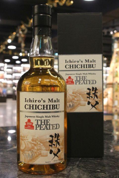 (現貨) Chichibu The Peated 2018 10th Anniversary 秩父 泥煤原酒 2018 十週年款 (700ml 55.5%)