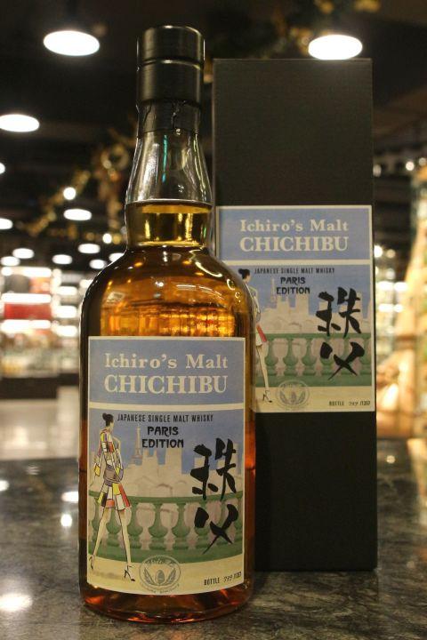 (現貨) Ichiro's Malt CHICHIBU Paris Edition 2018 秩父 巴黎限定版 (700ml 57.3%)