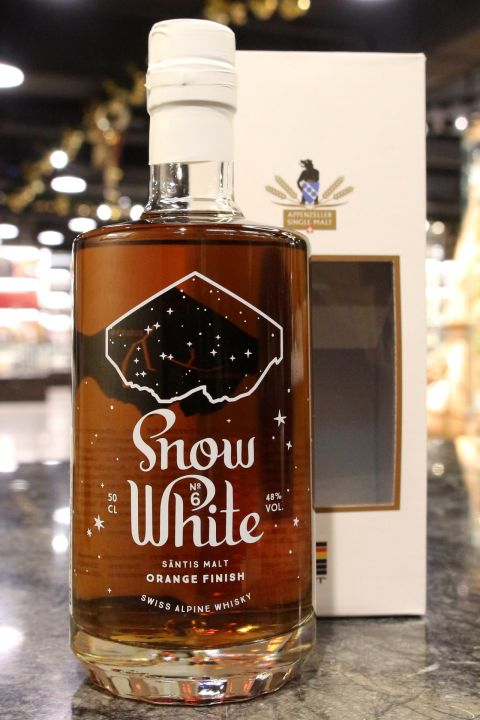 (現貨) SÄNTIS MALT Snow White 6 Orange Finish 山蹄士 白雪公主六版 橘子酒桶 (500ml 48%)