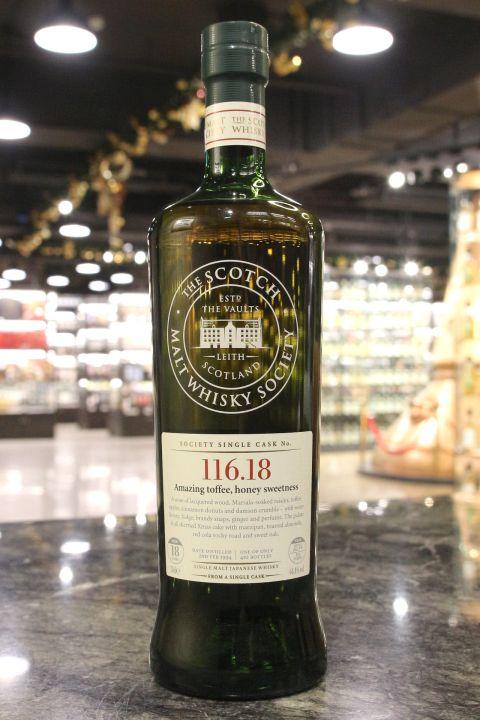 (現貨) SMWS 116.18 Yoichi 18 years 余市 單桶原酒 18年 蘇格蘭威士忌協會 (700ml 64.4%)