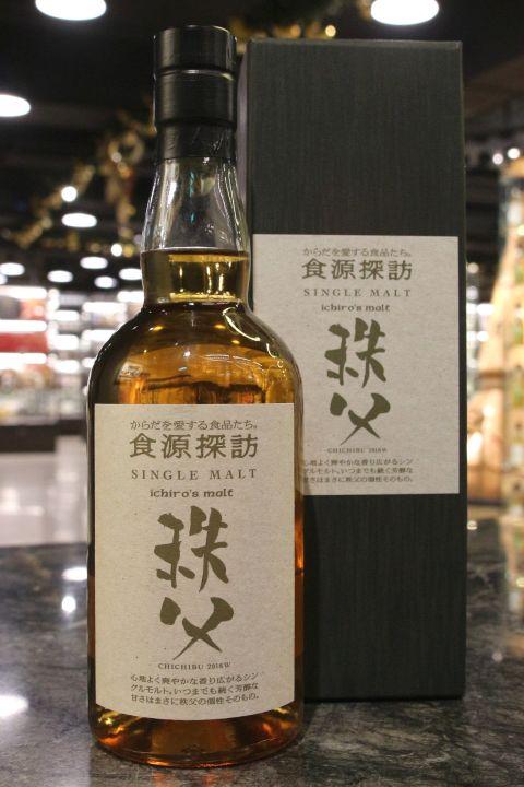 (現貨) CHICHIBU Ichiro's Malt 2018w 秩父 食源探訪 原酒 2018冬季版 (700ml 61%)
