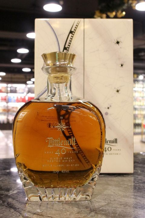 (現貨) Littlemill 1977 40 Years Celestial Edition 小磨坊 1977 40年 限量珍藏版 (700ml 46.8%)