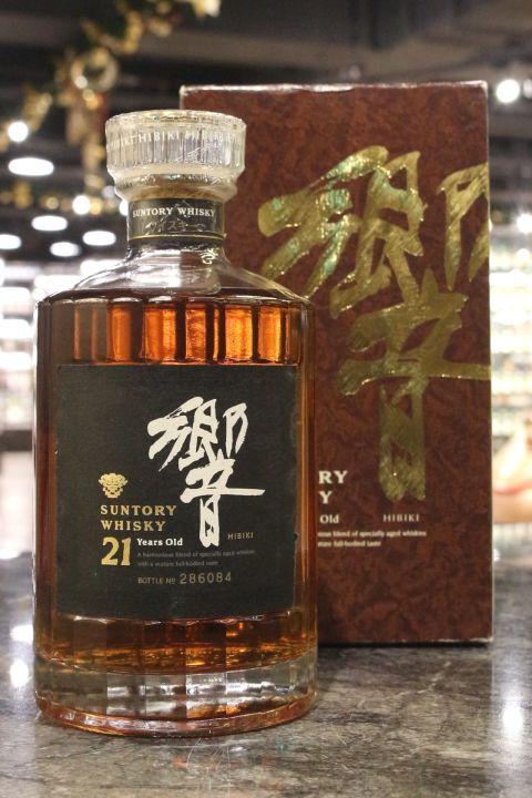 (現貨) HIBIKI 21 Years Golden Flower Version 響 21年 金花 受賞版 (700ml 43%)