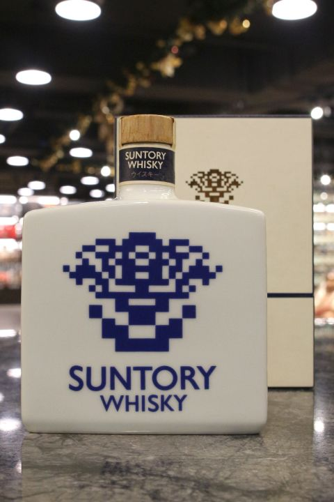 Suntory 17 Years Keizo Saji Ceramic Decanter 1990 三得利 佐治敬三 就任紀念瓷瓶 (700ml 43%)