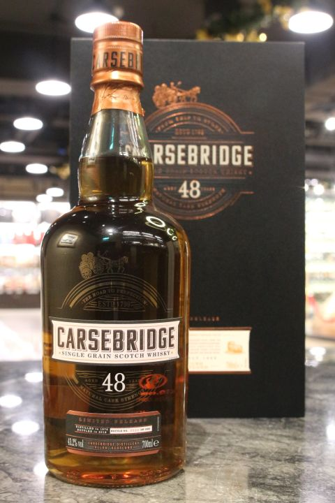 (現貨) Carsebridge 48 Years Single Grain Special Release 2018 卡瑟橋 48年 單一穀物 2018 (700ml 43.2%)