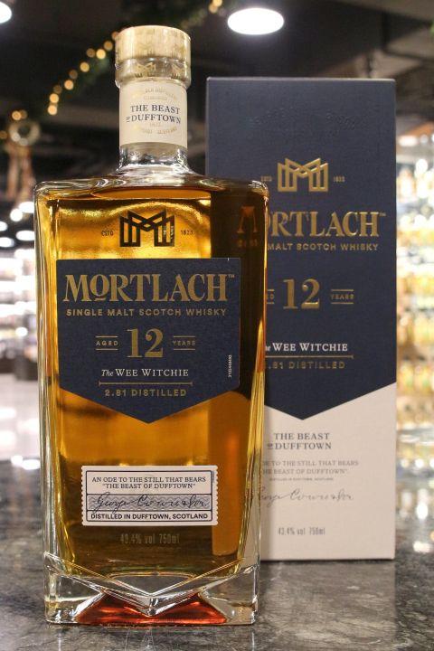 (現貨) Mortlach 2.81 12 Years Single Malt Whisky 慕赫 12年 (750ml 43.4%)
