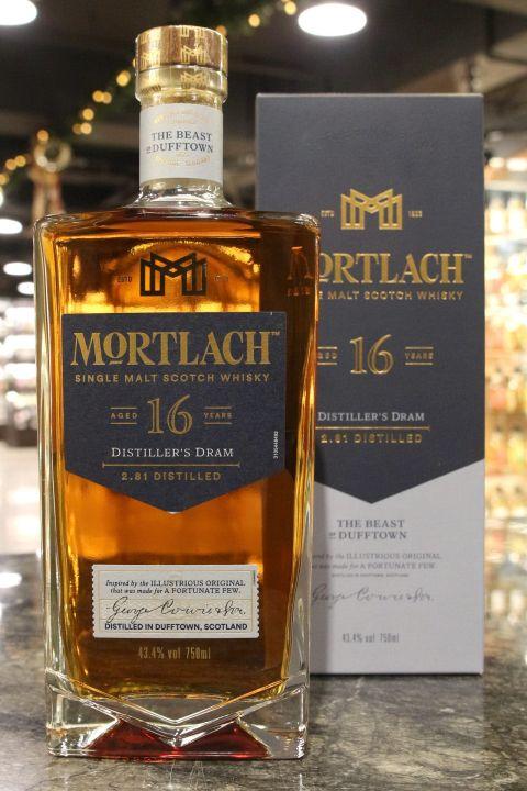 Mortlach 2.81 16 Years Single Malt Whisky 慕赫 16年 (750ml 43.4%)