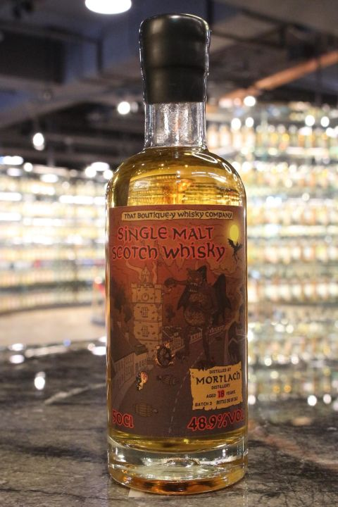 (現貨) That Boutique-y Whisky Co. Mortlach 18 Years Batch 3 慕赫 18年 第三版 漫畫標 (500ml 48.9%)