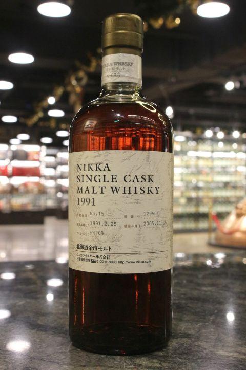 (現貨) Nikka Single Cask Yoichi 1991 余市 1991~2005 單桶原酒 (700ml 64%)