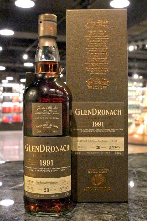 GLENDRONACH 1991 20 years PX Sherry Puncheon 格蘭多納 1991 20年 雪莉桶 (700ml 51.3%)