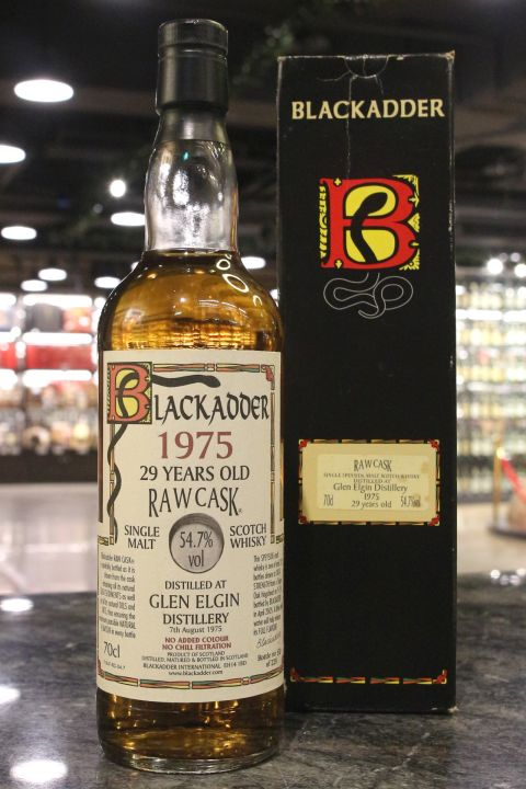 (現貨) Blackadder Raw Cask - Glen Elgin 1975 29 years 黑蛇 格蘭愛琴 29年 (700ml 54.7%)