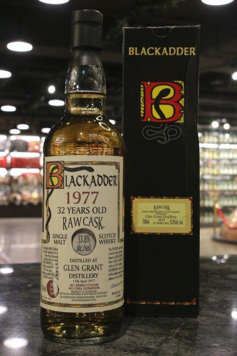 (現貨) Blackadder Raw Cask - Glen Grant 1977 32 years 黑蛇 格蘭冠 32年 (700ml 53.8%)