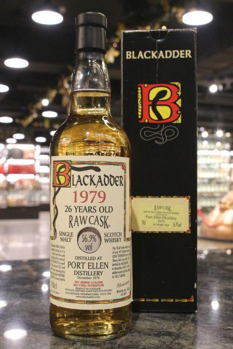(現貨) Blackadder Raw Cask - Port Ellen 1979 26 years 黑蛇 波特艾倫 26年 (700ml 56.9%)