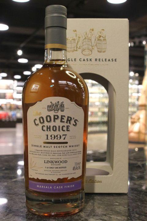 Cooper's Choice – Linkwood 1997 20 Years 酷選大師 林肯伍德 1997 瑪莎拉桶 (700ml 46%)