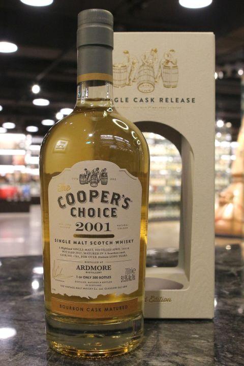 (現貨) Cooper's Choice - Ardmore 2001 16 Years 酷選大師 亞德摩爾 2001 波本桶 (700ml 51.5%)