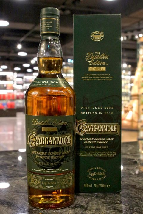 (現貨) Cragganmore 2004~2016 The Distiller's Edition 克拉格摩爾 酒廠限定 (1000ml 40%)