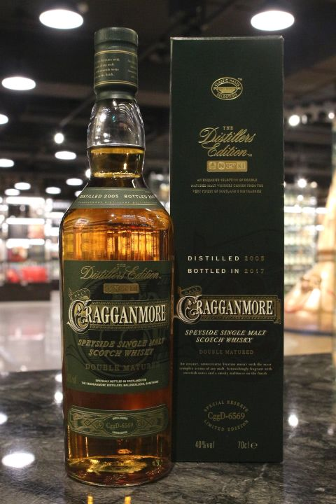(現貨) Cragganmore 2005~2017 The Distiller's Edition 克拉格摩爾 酒廠限定 (1000ml 40%)